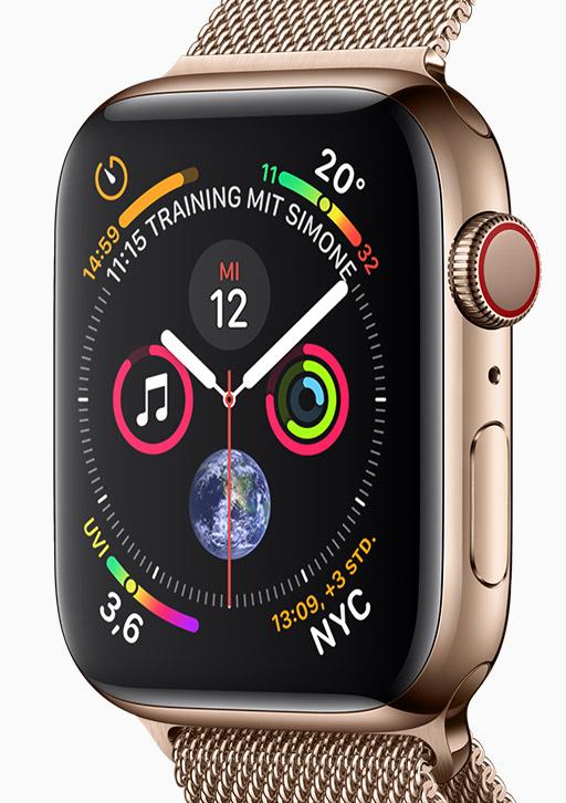 Apple Watch Series 4 CCT Communikation Uwe Gillner Augsburg Handy Smartphone Mobilfunk Internet Telekom Vodafone o2 Mobilcom Debitel Mnet Service Update
