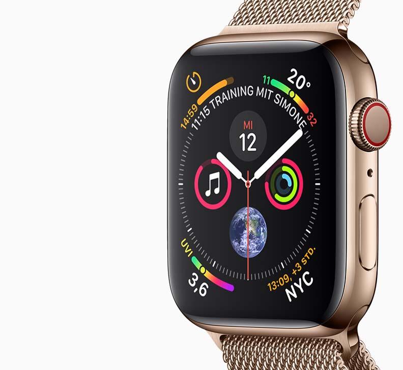 Apple Watch Series 4 CCT Communikation Uwe Gillner Augsburg Handy Smartphone Mobilfunk Internet Telekom Vodafone o2 Mobilcom Debitel Mnet Service Update_feat